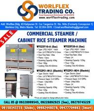 Commercial Gas RICE STEAMER / SIOMAI Steamer / Siopao Steamer