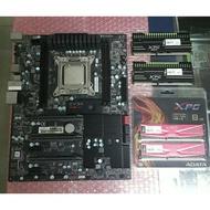 EVGA X79 SLI + I7-3960X + ADATA XPG DDR3-2133 4G*2 (2組如圖)