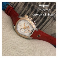 Aigner Women's Watches type Aigner Palermo Combination Of Leather Strap