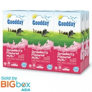 Goodday UHT Milk 200ml x 6 - Strawberry