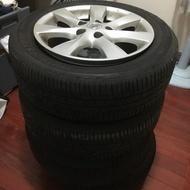Nissan 原廠鋁圈+胎
