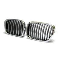 適用BMW 寶馬 E39 520 525 528 95~03 M5款 電鍍/電電黑 消光黑 水箱罩 鼻頭 水箱護罩 水柵