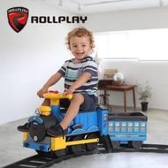 如雷兒童電動車可坐人汽車寶寶軌道小火車可坐嬰兒玩具車