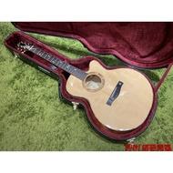 【諾亞樂器】全新 免運 全手工 Ayers SJ-60CS 英格曼雲杉 5A虎紋楓木 全單板 客製 木吉他 貓