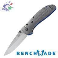 Benchmade Griptilian 灰G10柄銀刃折刀 / CPM-20V鋼 / 551-1、551S-1
