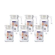 【蝦皮茉兒】宅配免運 🚚 Luminarc 樂美雅 玻璃冷水瓶6件組 500毫升 / 1.1公升 COSTCO 好市多