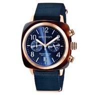 【BRISTON】CLUBMASTER 經典雙眼計時腕錶-海軍藍(19140.PRAT.33.NMB)