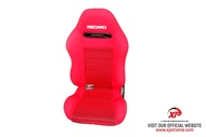 ORIGINAL READY STOCK SEAT SEMI BUCKET RECARO SR3 TOMCAT RED NO RAILING [L] 1 pair