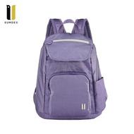 【H.Y SPORT】SUMDEX 樂遊防盜空間後背包 NOA-625PH 紫色