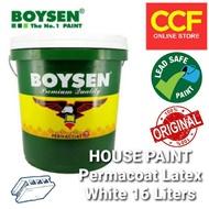 BOYSEN Latex Paint White 16 Liters Pail Barrel