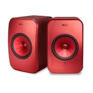 【KEF】英國 KEF LSX Hi-Fi 無線 WIFI 藍芽喇叭 紅色 內建擴大機(★還原音樂空間感 層次感 臨場感★)