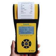 Lancol Micro 300 Car Battery Tester with Built-in Printer Battery Analyzer for Flooded, AGM, GEL, EFB Detect Bad Battery Cell