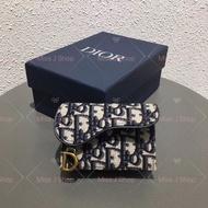 Dior Oblique Saddle 馬鞍包 老花 小錢包 卡包 零錢包