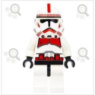 【尋磚樂】正版 樂高 震擊部隊 複製人士兵 星際大戰 ( sw091 Clone Trooper ) LEGO 二手