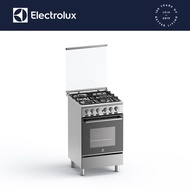 Electrolux EKG5302X 50cm 3 Gas Burner with 62L Electric Oven, Cooking Range