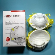 Mask N95 PARTICULATE RESPIRATOR Protection KN95 N-95 KN-95 Topeng Muka no valve medicos 5 ply 3M VFlex 8210 9105 printed