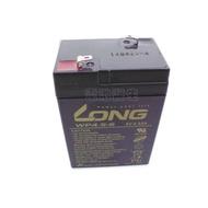 廣隆 LONG WP4.5-6 /6V- 4.5AH /兒童電動車 / 緊急照明燈 / 電子秤電池