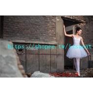 芭蕾舞裙成人舞蹈紗裙專業芭蕾舞比賽白天鵝舞演出服裝短蓬蓬裙