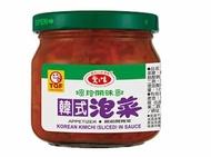 愛之味韓式泡菜190g*3罐 【合迷雅好物商城】