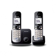 Panasonic Cordless Phone KX-TG6812 TWIN Digital Cordless DECT Phone