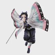 ในสต็อก19ซม.Demon Slayer Kochou Shinobu อะนิเมะ Action Figure อุปกรณ์ต่อพ่วงชุด Hand-Make คอลเลกชันของขวัญของเล่นสำหรับเด็ก