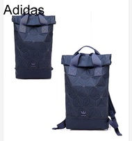 ADIDAS X Issey Miyake  3D Roll Top Backpack blue