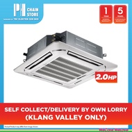 MIDEA MCA3-18CRN1 2.0HP 4-WAY CEILING CASSETTE AIR CONDITIONER (SELF COLLECT/DELIVERED BY OWN LORRY)