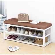 ⚡ส่งเร็ว 1-3 วัน⚡ ชั้นวางรองเท้า พร้อมที่นั่ง ตู้รองเท้า ประหยัดพื้นที่ตู้รองเท้า ชั้นวางรองเท้า Shoe Cabinet ชั้นวางรองเท้ากันน้ำ