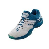 【二手】VICTOR 勝利羽球鞋A730 UA 深翡藍 (珠光白)(NEW) 羽球鞋   24.5CM