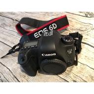 公司貨 盒單齊全Canon 6D 品項佳 二手 快門數9669