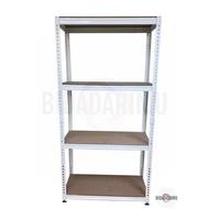 5 Tier Medium Duty Rack / Rack / Racking System / Steel Rack / Boltless Rack / Rak Serbaguna / Rak Besi / Rak / Rak Barang / Rak