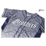 2016 象紋迷彩球衣 2.0 象一家人 中信兄弟 棒球 開扣球衣 兄弟象 XS S L XL號《BL88》