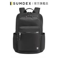 Sumdex|都會輕量商務後背包 HDN-265JB 黑色 官方旗艦店