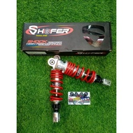 SHAFER SHOCK FOR AEROX 270mm (RED) MADE in THAILAND