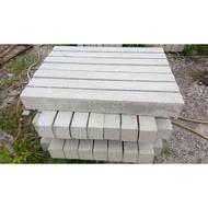 水泥 水泥製品 12公分 路沿石 路緣石 安全島