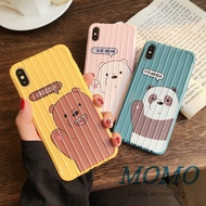 We Bare Bears Soft TPU Case For iPhone X/XS XR XS MAX