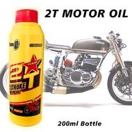 2T Scented 2-STROKE MOTORCYCLE OIL Motor Premium Lubrigold 200mL