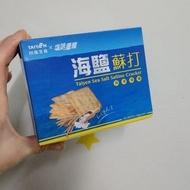 保留中請勿下標台塩生技 塩味嚼醒 海鹽蘇打餅/75克/五盒