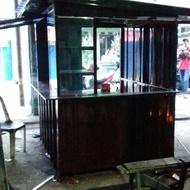 gerobak booth kontainer warung kekinian