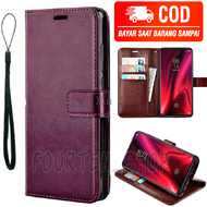 CASING / CASE KULIT FOR OPPO A54 2021 - CASING DOMPET-COVER -SARUNG HP