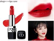 DIOR / Dior Lipstick Intense Blue Gold Lipstick 999 Matte Dior Lipstick Intense Blue Gold Lipstick ลิปสติก 999 Dior ลิปบ