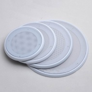 6.5'' 8'' Auto Car Subwoofer Speaker Net Grille Audio Protective Cover White