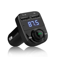 【老車變新車】 HD5 車用MP3 MP3發射器 藍芽播放器 可通話 雙USB孔 SD卡/隨身碟播放  3.1A快速充電