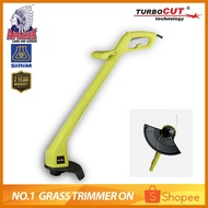 APACHE TurboCUT® ZF5220 Electric Grass Lawn Trimmer Mesin Rumput Brush Cutter 400W + FREE Installed Trimmer Line