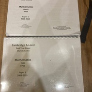A level past year books S1 and P1