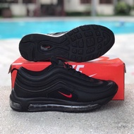 Nike Airmax  97 All Black Red