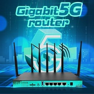 5G Router Dual Band Gigabit Router High Speed Wireless WiFi 1200Mpbs 4G Industrial Router 256MB M.2 Port SIM Slot WG1608