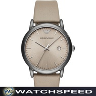 Emporio Armani AR11116 Taupe Leather Men s Watch