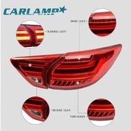 【重磅超質感】《《l领克》》適用于馬自達CX5尾燈總成 LED汽車尾燈 改裝熏黑后尾燈總成