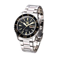 [MUST BUY]Seiko Men's 5 Sports Automatic Silver Stainless Steel Band Watch SNZH57K1 (watch for man / jam tangan lelaki / men watch / watch for men)